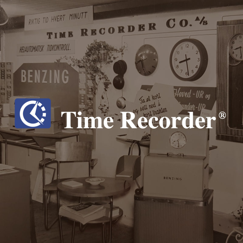 TimeRecorder AS